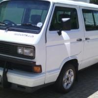 Vw caravelle 2.6i van minibus