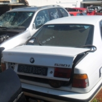 BMW 530i stripping for spares