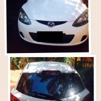Mazda 2, immaculate condition. One lady owner, no accidents. Full service history. Tyres good