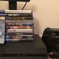 Sony PS4 - 500 GB Model Bundled With 3 Controllers 10 Games