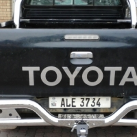 Protect your back bumper by fitting towbar on your bakkie