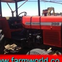 S431 Pre-Owned Massey Ferguson 398 70kW/95Hp 2x4 Tractor/Trekker