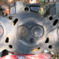 Ford 3L V6 cylinder head set - matched pair