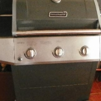 3+1 Burner Patio Gas Braai (Megamaster)
