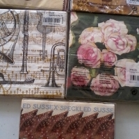 serviettes for decoupage