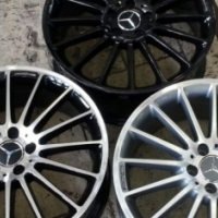 "19"" MERC MAGS FOR VITO & VIANO - WITH TYRES"
