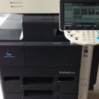 2 Konica Minolta Bizhub B/W Copier, Printer, (Color)Scanner, Fax