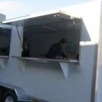 Mobile kitchen trailer on offer!