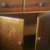 Antique Cupboard/Linen