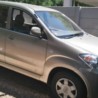 Toyata Avanza for sale (Gold) - Good condition