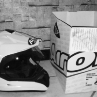 Airoh S5 Helmut Size Small (S) White Dual sport/Adventure/On-off road