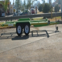 CAR TRAILER - BRAKE NECK. 600mm GRID