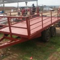 double axel trailer