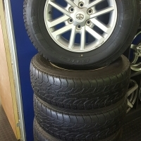 Toyota Fortuner / Hilux Rims for sale