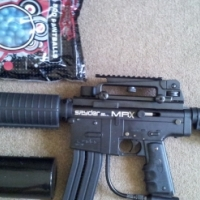 Spyder MRX Mag Fed Paintball Gun For Sale