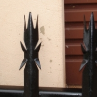 7 SPIKES WALL EXTENSIONS The best security you can get to stop all intruders. Call 0611311232