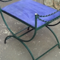 Steel Dressing Table Chair