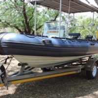 STINGRAY 5.2m RIB Boat with 2x 50HP mercury outboards
