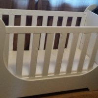 Brand New / Excellent Condition Sleigh Cot