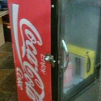 collectors coca cola bar fridge. offers welcome