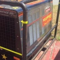 Lincoln Air Vantage 500 welder generator