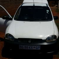 2002 Opel Corsa bakkie for sale