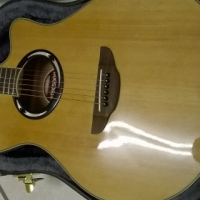 Yamaha APX500ii acoustic guitar with case