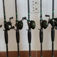 Rod Stand for 7 rods