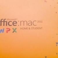 Microsoft Office: Mac 2011 (Unused / Sealed box)