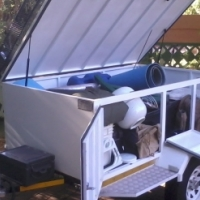 Trailer -Multi_purpose Business and camping/ off road