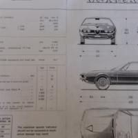 Old Alfa Romeo Montreal Handbook, For Sale