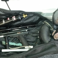 PIRANHA R6 PAINTBALL GUN WITH ACCESSORIES