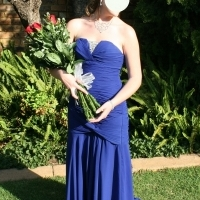 Stunning ladies blue evening gown or matric farewell dress. for sale  East Rand
