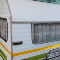 gypsey caravette 4 with full tent