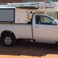 Abba Camper for single cab bakkie
