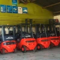 USED LINDE FORKLIFTS FOR SALE LIKE NEW