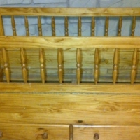 Solid pine wood cot for sale