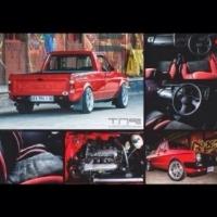 1993 modified 20v  vw caddy bakkie