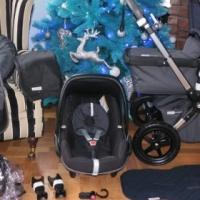 RARE LTD ED HENLEY GREY BUGABOO CAMELEON3+MAXI COSI CAR SEAT+EXTRAS