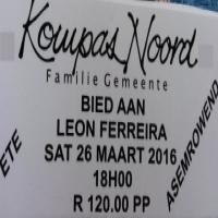 Vertoning met Leon Ferreira