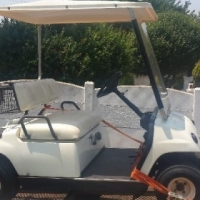 yamaha golf cart and trailer for sale