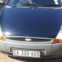 2007 Blue Ford Ka 1.3 Manual