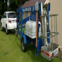 CHERRY PICKERS FOR HIRE - TRAILER MOUNTED