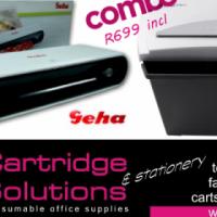 Combo deal - fantastic Shredder and laminator deal
