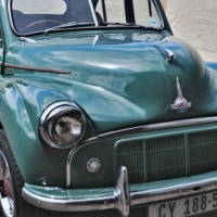 Morris Minor 1952 split screen