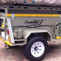 Challenger Bundu Basher 4x4 Off Road Trailer (Wilderness)