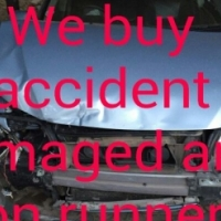 Accident damaged vehicles looking to be purchased,