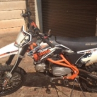 Big boy off road bike 125 TTR s