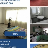 Two bedrooms apartment plus a garage !