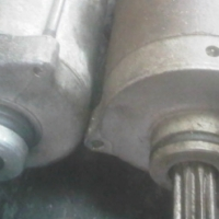 CLIVES BIKES IMPORTS- suzuki gs 550 starter motor used R750